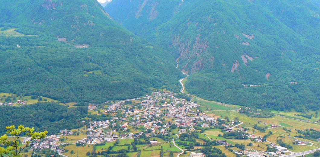 Il paese di saint Marcel